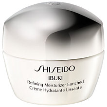 Buy Shiseido Ibuki Refining Moisturiser Enriched, 50 ml Online at johnlewis.com