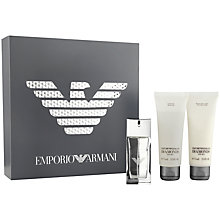 Buy Emporio Armani Diamonds for Men Eau de Toilette Fragrance Set, 50ml Online at johnlewis.com