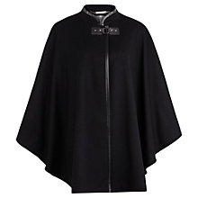 Buy Windsmoor Cape, Black Online at johnlewis.com