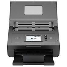 Buy Brother ADS-2600W Wireless Automatic Document Scanner Online at johnlewis.com