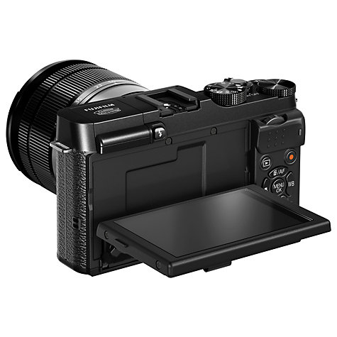 "Buy Fujifilm X-M1 Compact System Camera with 16-50mm IS Len, HD 1080p, 16.3MP, Wi-Fi, 3"" LCD Screen Online at johnlewis.com"