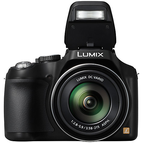 Buy Panasonic Lumix DMC-FZ72 Bridge Camera, HD 1080p, 16.1MP, 60x Optical Zoom, 3 LCD Screen, Black Online at johnlewis.com