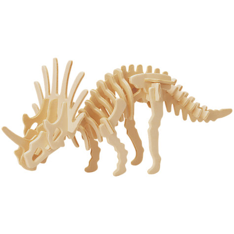 Buy Professor Puzzle Stegosaurus Construction Kit Online at johnlewis.com