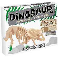 Buy Professor Puzzle Triceratops Construction Kit Online at johnlewis.com