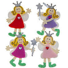 Buy John Lewis Sparkle Fairy Paper Toppers, Pack of 4 Online at johnlewis.com