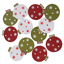 Buy John Lewis Baubles Paper Toppers, Pack of 5 Online at johnlewis.com