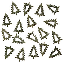Buy John Lewis Christmas Trees Paper Toppers, Pack of 5 Online at johnlewis.com