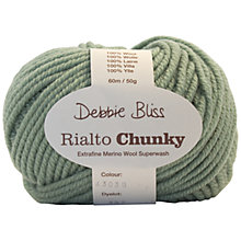 Buy Debbie Bliss Rialto Chunky DK Yarn, 50g Online at johnlewis.com