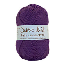 Buy Debbie Bliss Baby Cashmerino Yarn, 50g Online at johnlewis.com