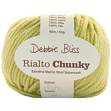 Buy Debbie Bliss Rialto Chunky Yarn, 50g Online at johnlewis.com