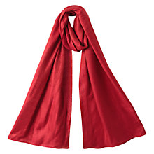 Buy East Shimmer Scarf, Scarlet Online at johnlewis.com
