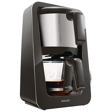 Buy Philips HD7688/50 Avance Filter Coffee Machine, Black Online at johnlewis.com