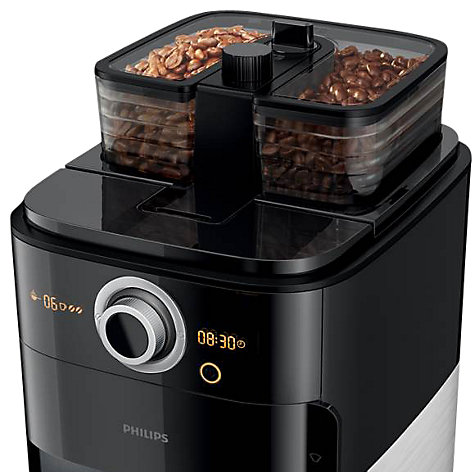Buy Philips HD7762/00 Coffee Machine, Black Online at johnlewis.com