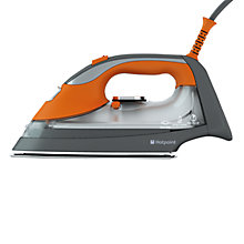 Buy Hotpoint SIDC30BA0UK Quick Perfection Steam Iron, Orange Online at johnlewis.com