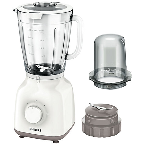 Buy Philips HR2106/01 Daily Collection Blender, White Online at johnlewis.com