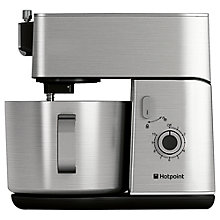 Buy Hotpoint KM040AX0UK Stand Mixer, Stainless Steel Online at johnlewis.com