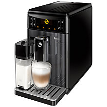 Buy Saeco HD8964/08 GranBaristo Bean-to-Cup Coffee Machine, Black Online at johnlewis.com