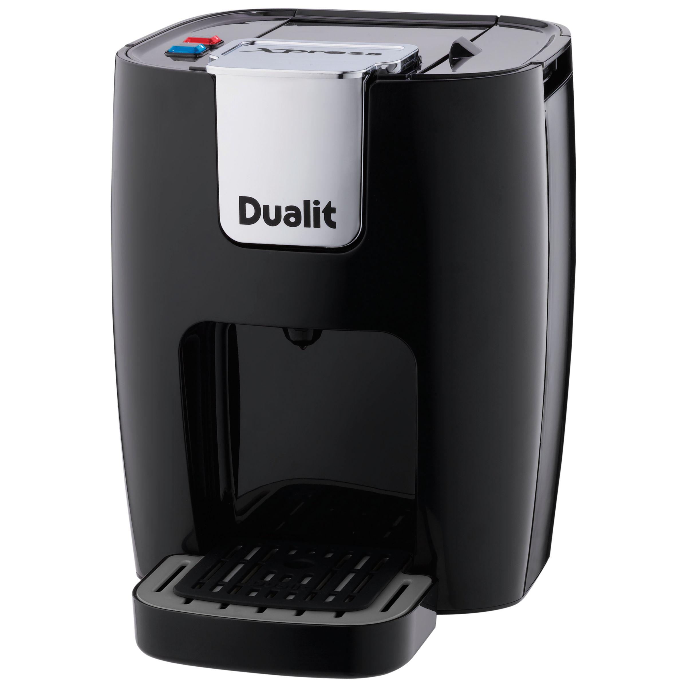 Buy Dualit 84705 Xpress 3 In 1 Coffee Machine, Black John Lewis