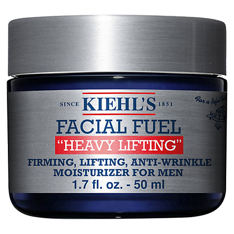 Buy Kiehl's Facial Fuel 'Heavy Lifting' Anti-Wrinkle Moisturizer For Men, 50ml Online at johnlewis.com