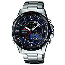 Buy Casio ERA-200RB-1AER Men's Edifice Stainless Steel Bracelet Watch Online at johnlewis.com