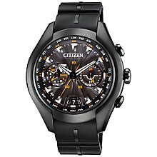Buy Citizen CC1076-02E Men's Satellite Wave-Air Titanium Radio Controlled Eco-Drive Watch Online at johnlewis.com
