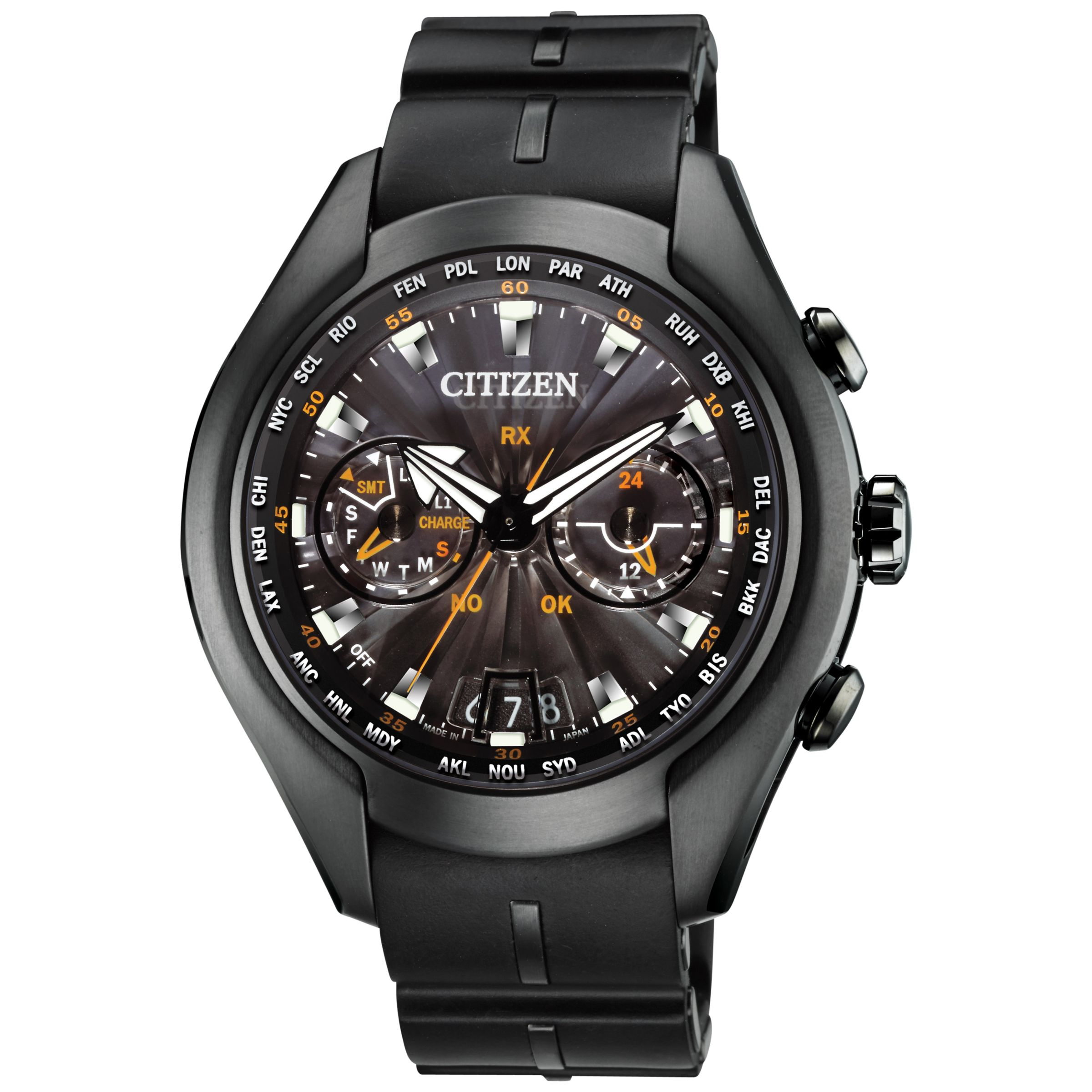 Citizen CC107602E Men&39s Satellite WaveAir Titanium Radio Controlled EcoDrive Watch