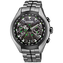 Buy Citizen CC1055-53E Men's Satellite Wave-Air Titanium Radio Controlled Eco-Drive Watch Online at johnlewis.com