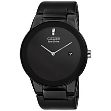 Buy Citizen Men's Axiom Stainless Steel Bracelet Watch Online at johnlewis.com