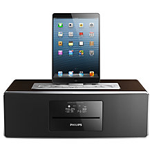 Buy Philips DTB855 DAB/FM/CD Bluetooth Dock Radio with Apple Lightning Online at johnlewis.com