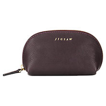 Buy Jigsaw Crescent Zip Top Pouch Online at johnlewis.com