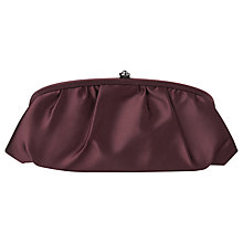 Buy Phase Eight Sophie Clutch Handbag, Wine Online at johnlewis.com
