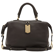 Buy Reiss Alma Tag Day Handbag, Graphite Online at johnlewis.com