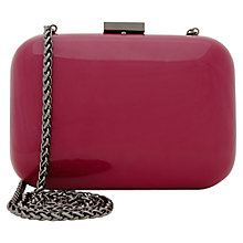 Buy Reiss Linnia Hard Case Clutch Handbag Online at johnlewis.com
