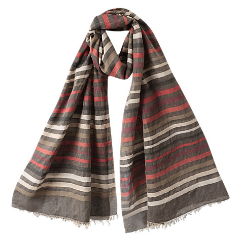 Buy East Multi Scarf, Multi Online at johnlewis.com