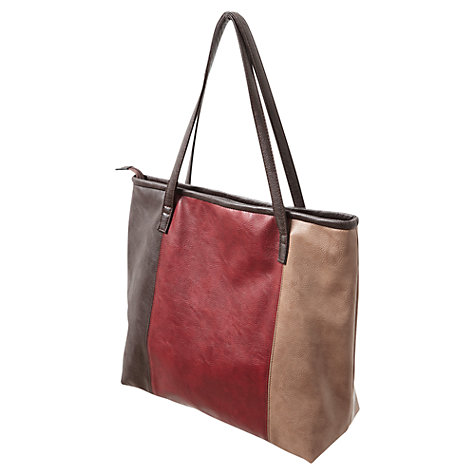 Buy East Colour Block Tote, Multi Online at johnlewis.com