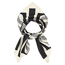 Buy Hobbs Signature Silk Scarf Online at johnlewis.com