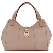 Buy Reiss Selma Seam Detail Shoulder Handbag, Blush Online at johnlewis.com