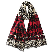 Buy East Graphic Wool Scarf, Calico Online at johnlewis.com