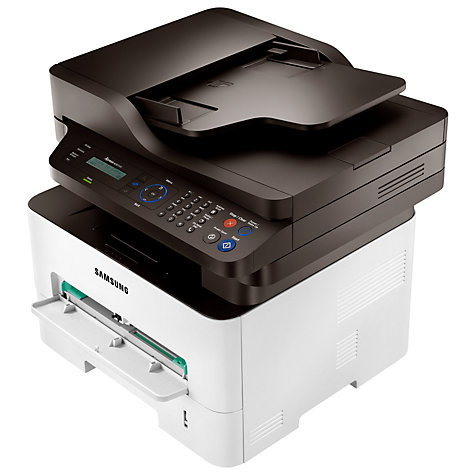 Buy Samsung Xpress M2875FW Wireless All-in-One Multifunction Mono Laser Printer & Fax Machine Online at johnlewis.com
