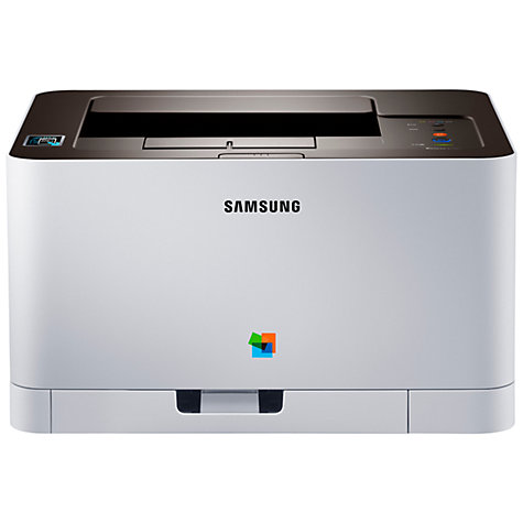 Buy Samsung Xpress SL-C410W Wireless Colour Laser Printer with NFC Online at johnlewis.com