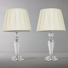 Buy John Lewis Miriam Crystal Duo Table Lamps, Set of 2 Online at johnlewis.com