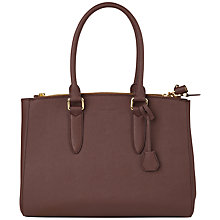 Buy Jaeger Marshall Bag, Light Purple Online at johnlewis.com