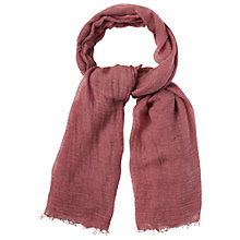 Buy White Stuff Moth Scarf, Cherry Online at johnlewis.com