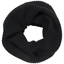 Buy Jaeger Cowl Snood, Black Online at johnlewis.com
