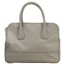 Buy Jigsaw Chatsworth Bag, Grey Online at johnlewis.com