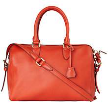 Buy Jaeger Penney Bowling Bag, Bright Red Online at johnlewis.com