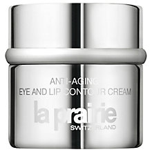 Buy La Prairie Anti-Aging Eye & Lip Contour Cream, 20ml Online at johnlewis.com
