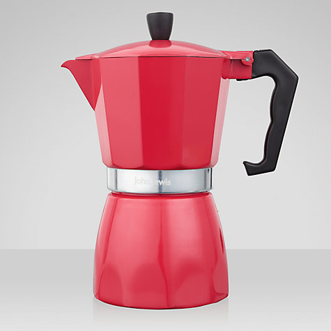 Buy House by John Lewis Espresso Maker, 6 Cup Online at johnlewis.com