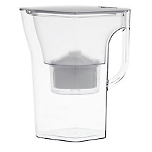 Buy Brita Navelia Water Filter Jug, Frosted White, 2.3L Online at johnlewis.com