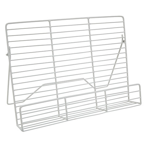 Buy John Lewis Wire Cookbook Stand Online at johnlewis.com